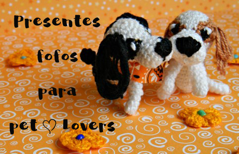 Presentes fofos para pet lovers